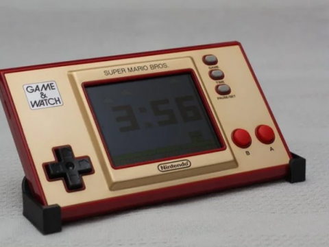 Stand for Game & Watch: Super Mario Bros