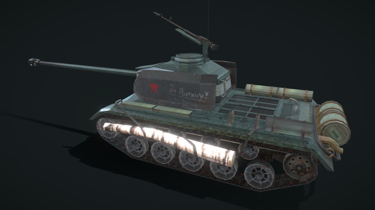 T-68-122 | Imaginary Prototype Tank