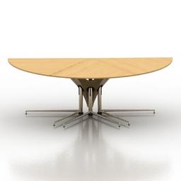 Table module 3d model