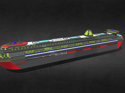 Tour Ship (Cruise Ship)