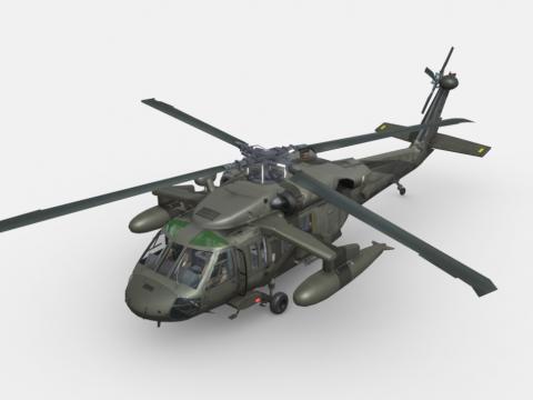 UNITED STATES SIKROSKY UH-60 BLACK HAWK (G-R)