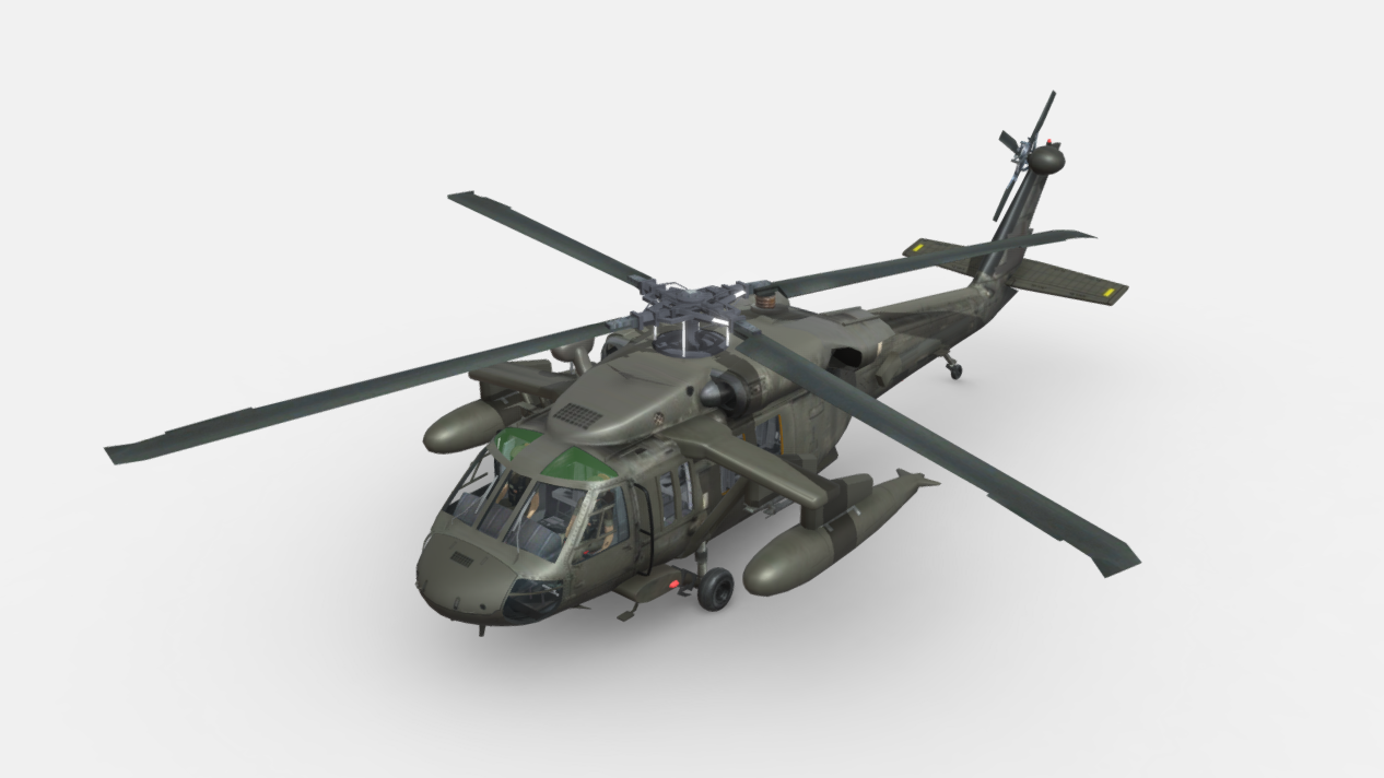 UNITED STATES SIKROSKY UH-60 BLACK HAWK (G-R)