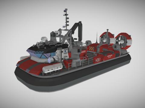 Zephyr-Class Hovercraft
