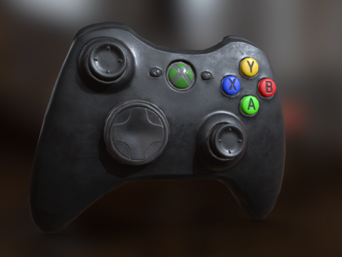 Xbox 360 controller (improvised) - Game Asset