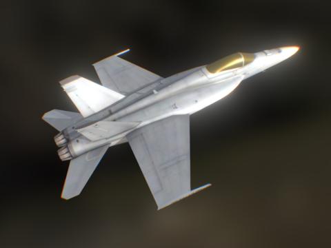 AMERICAN BOEING F/A-18E/F SUPER HORNET (GAME-R)
