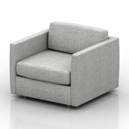 Armchair Madison Formdecor 3d model