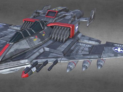 F-76 Thunderbolt TAC Fighter