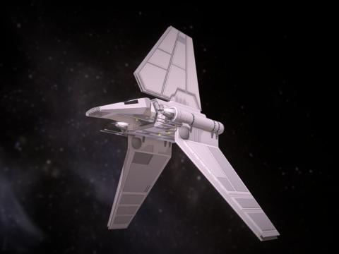 STAR WARS Lambda shuttle T-4a