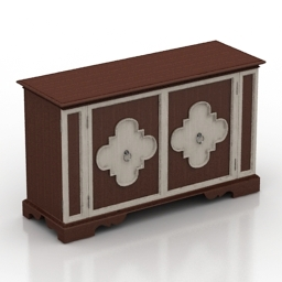 Locker Hooker furniture 3d model