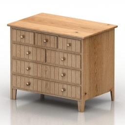 Locker M 4412 Guadarte Commode 3d model