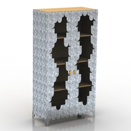 Locker OPORTO CABINET BOCA DO LOBO 3d model