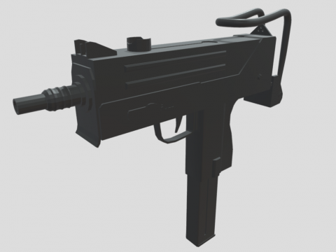 Low Poly Mac-10