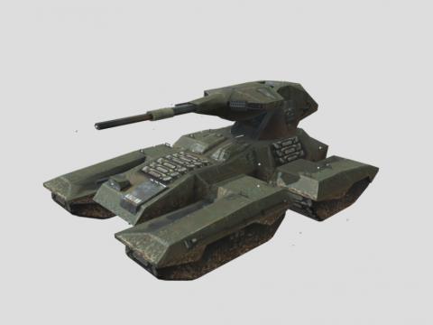 Halo Combat Evolved: M808B Scorpion