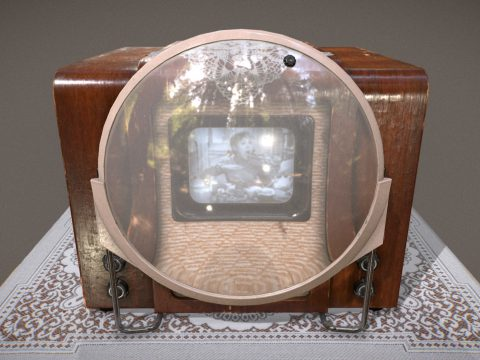 Soviet TV KVN-49