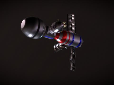 Space Soyuz and Space Capsule