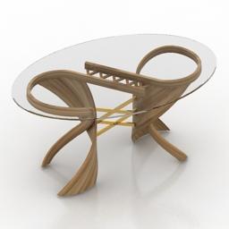 Table 3 actual design virtuos S 3d model