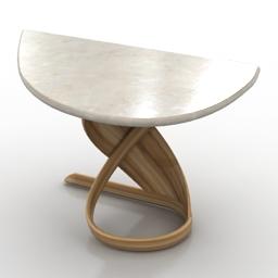 Table 4 dressing actual design virtuos 3d model