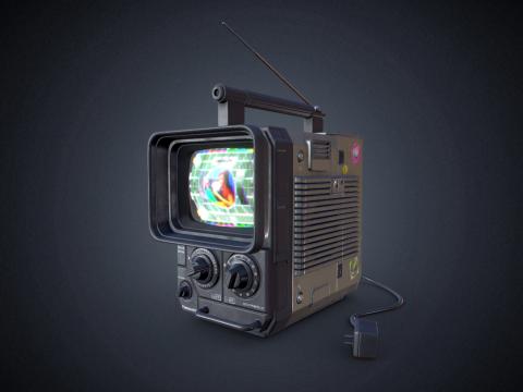 Vintage Television - Panasonic TR-555