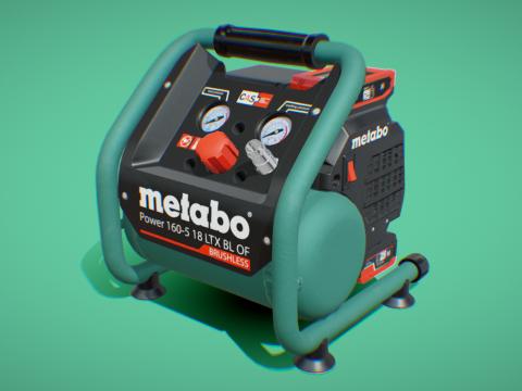 Air Compressor Metabo 160-5 18 LTX BL OF