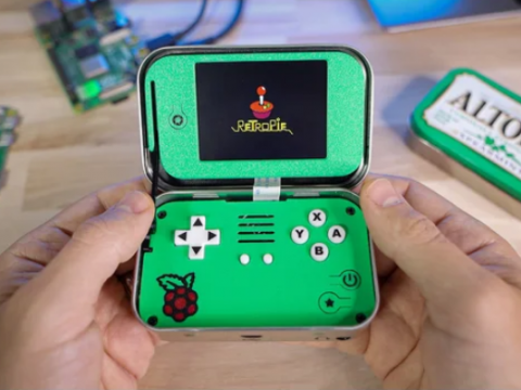 MintyPi v3.5: Altoids Tin Gaming Handheld