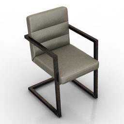 Armchair Deitzel 3d model