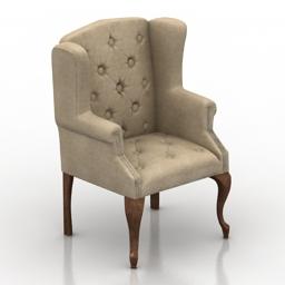 Armchair cls 3d model