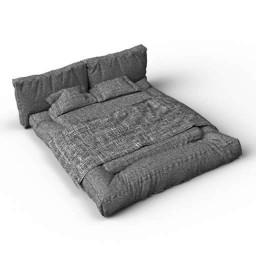 Bed Bonaldo Fluff 3d model