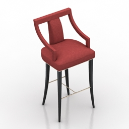 Chair bar EANDA BRABBU 3d model