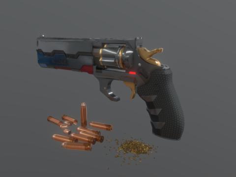 Cyberpunk 2077 - Gun Archangel