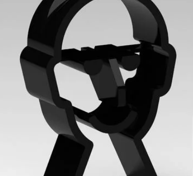 Headphone Holder Face