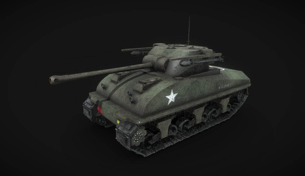 Hybrid Sherman Firefly