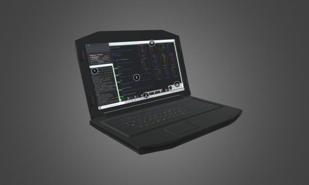 Laptop of the Mad Genius