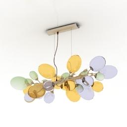 Luster Luce de Vivere Nuvola 3d model