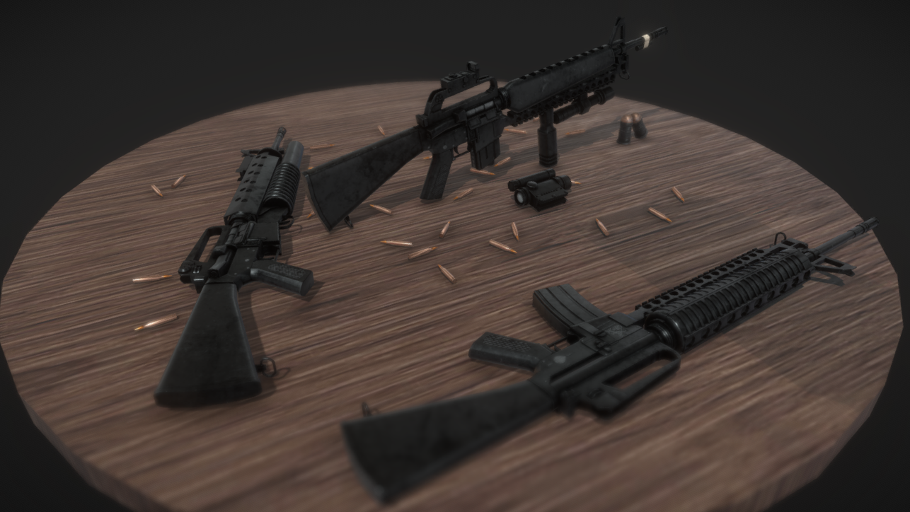 M16A1 and M16A2 Kit