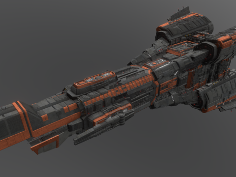 MCRN Donnager (The Expanse)