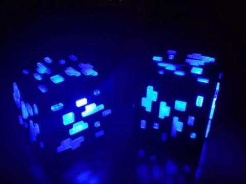 Minecraft Block 9v Box