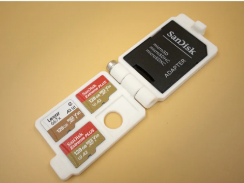 Minimal SD Card Wallet