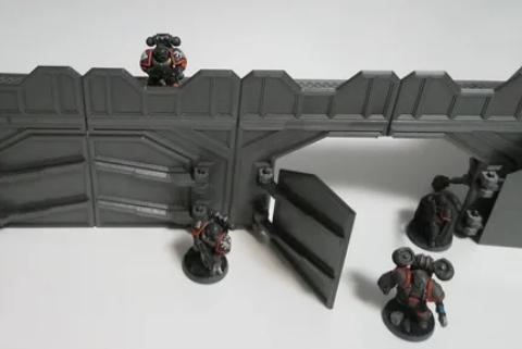 Modular SciFi Outpost - Gate