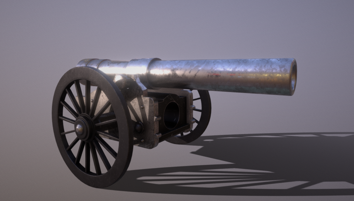 Old Steel Cannon
