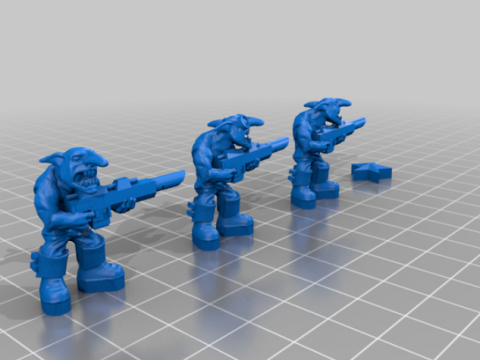 Rebel Grot Guardsmen