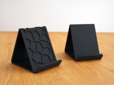 Voronoi & Regular Phone Holder (no support)