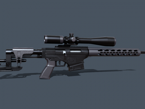Sniper rifle GameReady