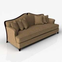 Sofa CH05 3d model