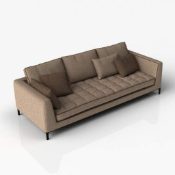 Sofa CH07 3d model