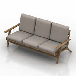 Sofa Cosmorelax SF9160C 3d model