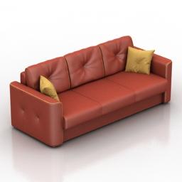 Sofa MOON 041 3d model