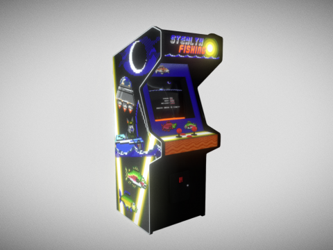 Stealth Fishing arcade cabinet