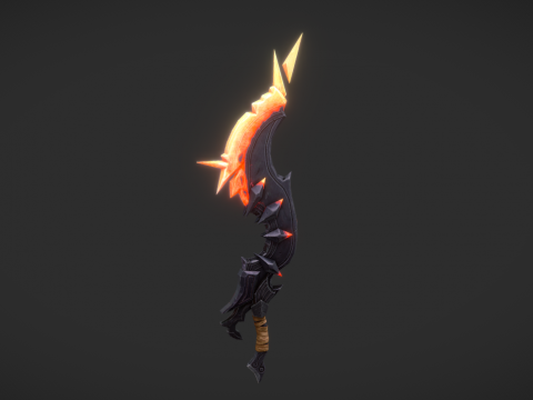 Sword Half-Plasma /Inferno blade