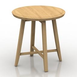 Table IKEA Kragsta 3d model