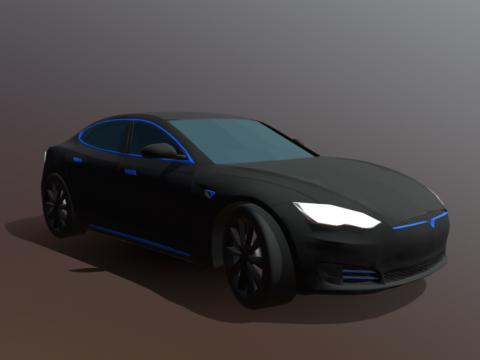 Tesla Model S Police Unit